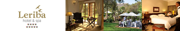 Go Directly to Leriba Hotel and Spa in Centurion